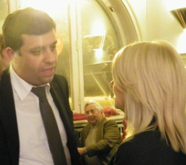 Spranger - Gespräch mit Raed Saleh