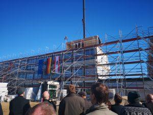Richtfest ISS Mahlsdorf